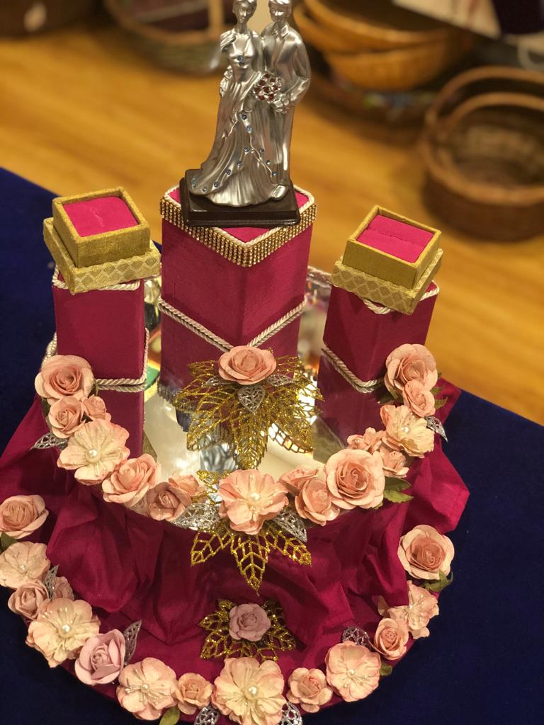 Engagement Ring Platters Wedding Packaging In Chennai Trousseau Packaging In Chennai Corporate Gifts In Chennai Gift Boxes In Chennai Customized Gifts In Chennai Wedding Gifts In Chennai Baby Announcement In Chennai