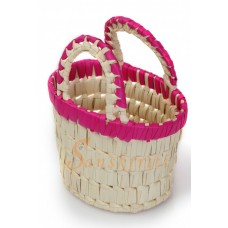 Palm Leaf Tiny Basket